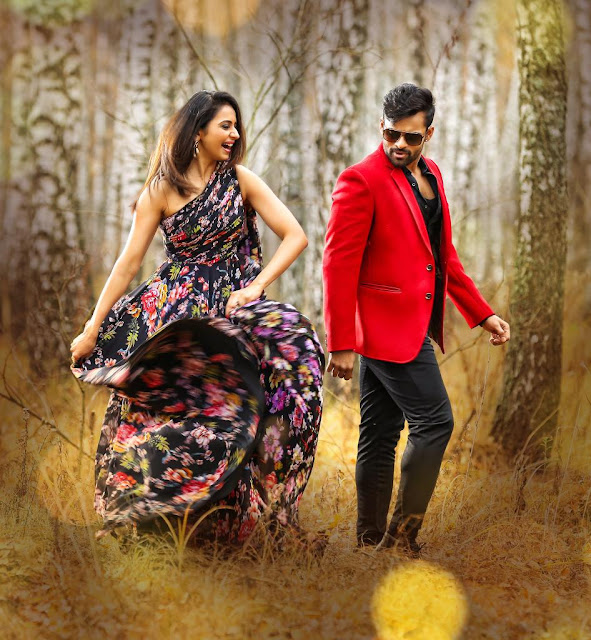 Sai Dharam Tej, Rakul Preet Winner Movie New Posters