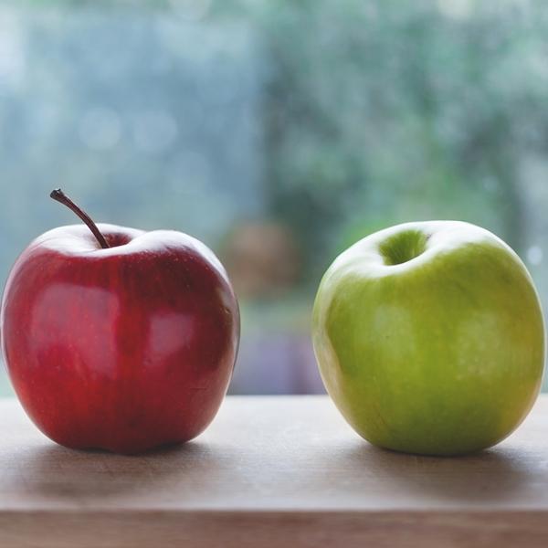 Buah apel untuk mix jus