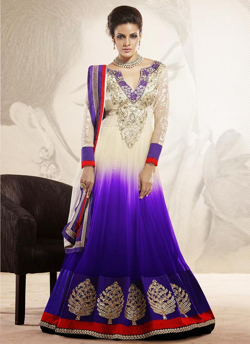 Indian And Pakistani Frock Designs Latest Fashion 2016