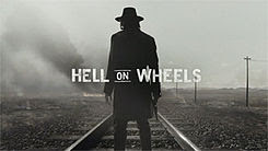 Hell On Wheels tv series Western title card