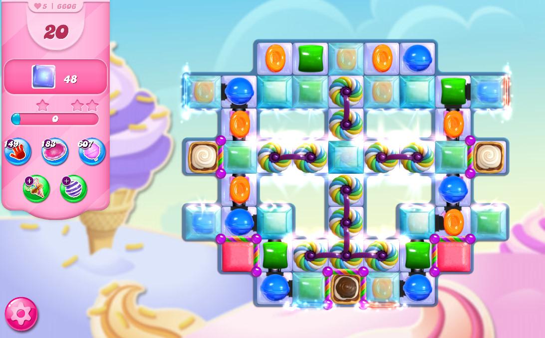 Candy Crush Saga level 6606