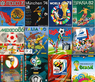 Panini football sticker albums