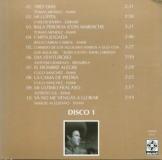 Antonio Aguilar - Mi Historia Disco 01
