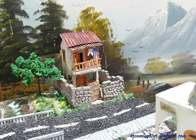 Diorama Miniature house