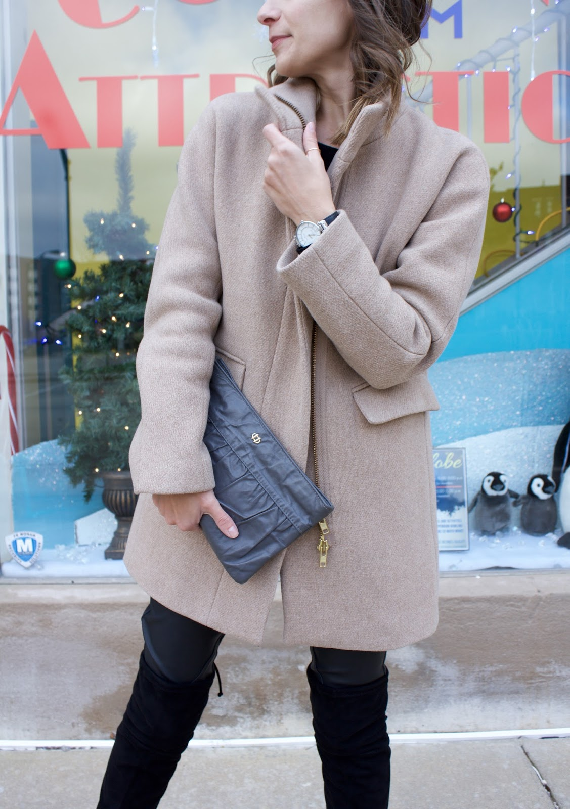 J.Crew camel winter coat