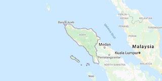 Peta provinsi Nangro Aceh Darusslam