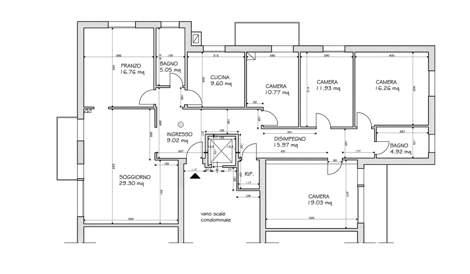 Mod metti in scena la tua casa for Planimetria di una casa