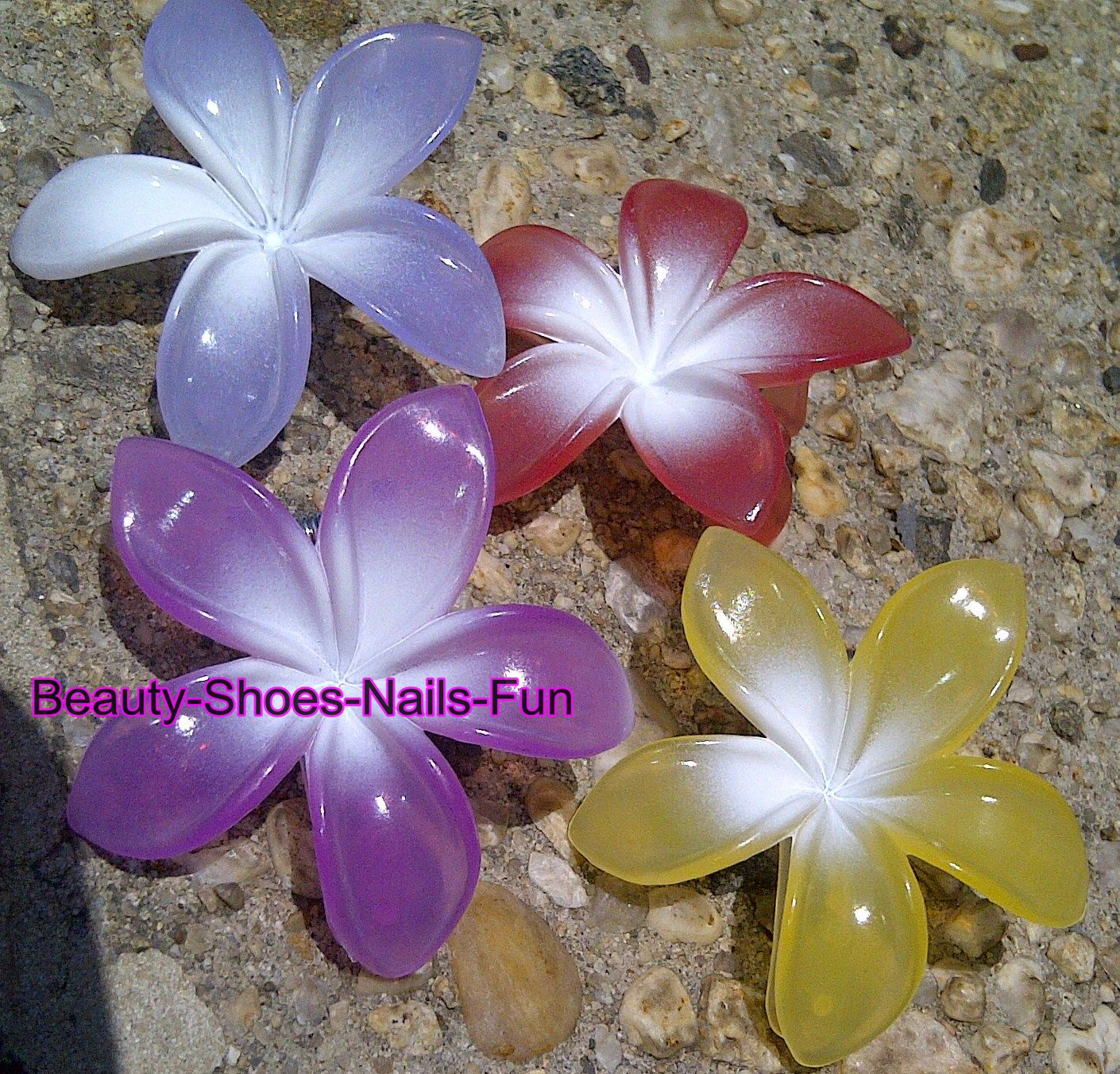 Beauty Shoes Nails Fun Color Changing Hair Clips