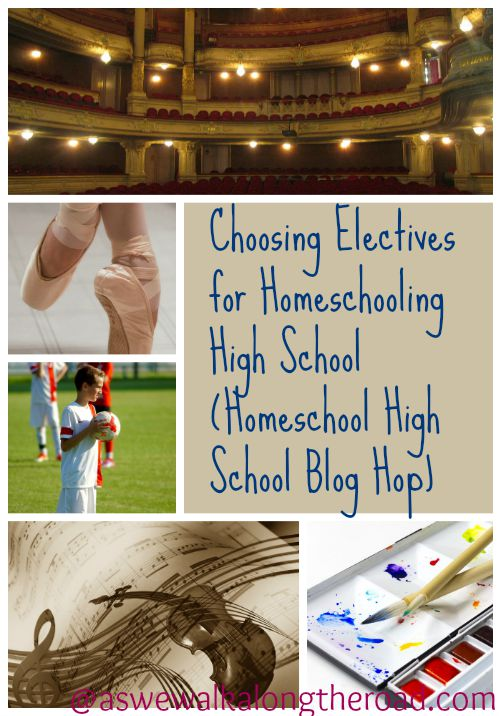 Ideas and resources for choosing electives for high school