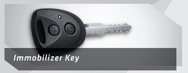 Toyota Calya sudah dilengkapi dengan Immobilizer Key