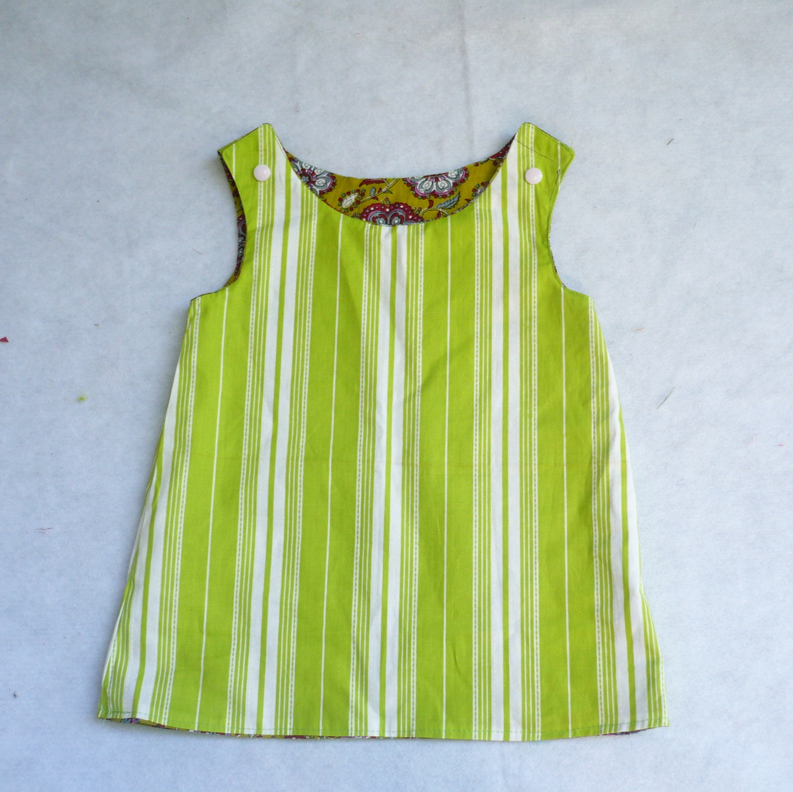 How To Sew Reversible Tunic