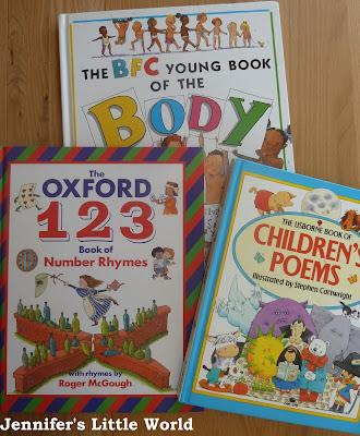 Charity shop haul - books