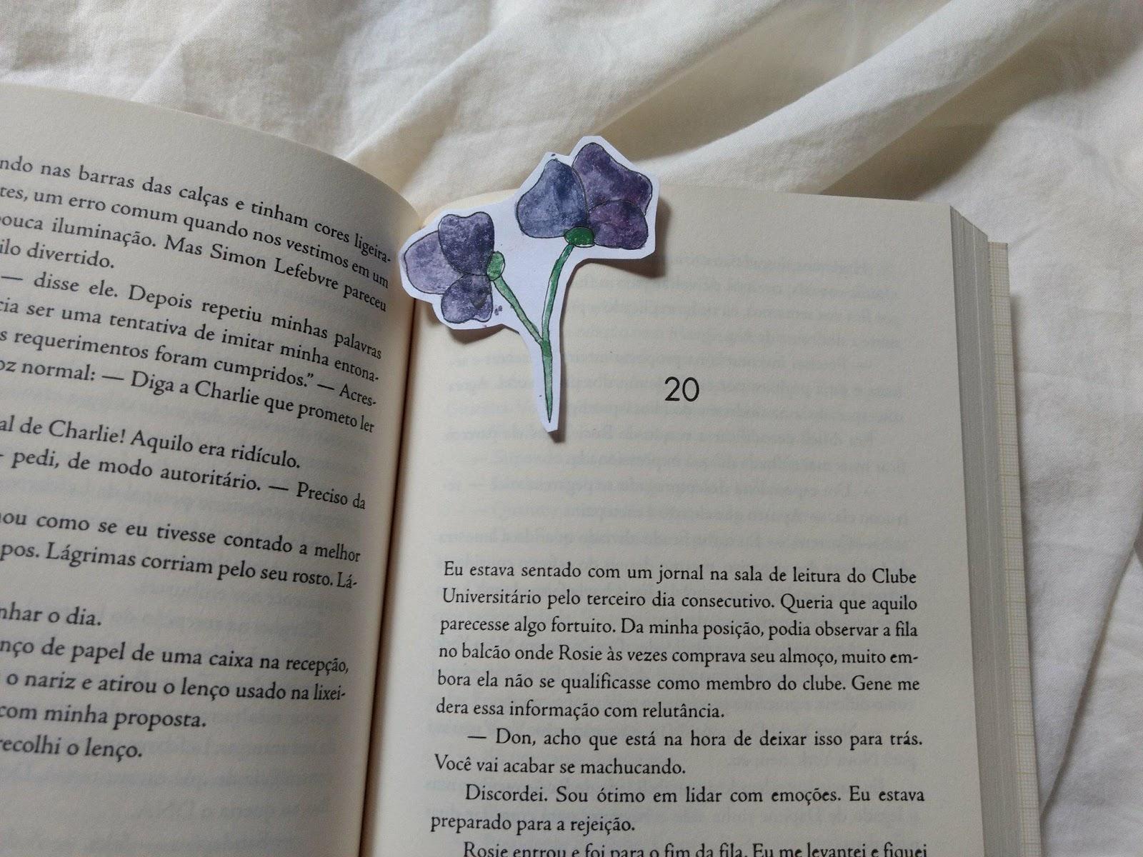 capítulos do livro O Projeto Rosie