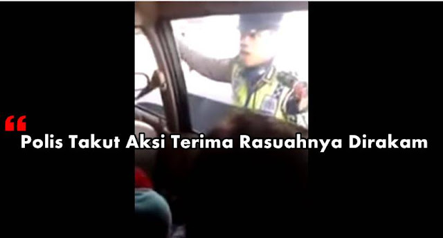 polis, rasuah polis, polis takut terima rasuah, gambar polis terima rasuah, polis indonesia