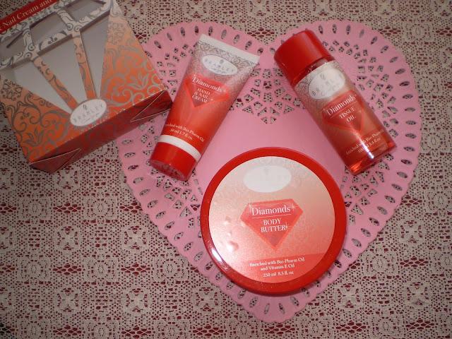Bramley | Diamonds: Hand & Nail Cream and Tissue Oil Set + Body Butter