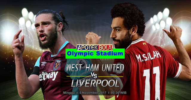Prediksi West Ham vs Liverpool 5 November 2017
