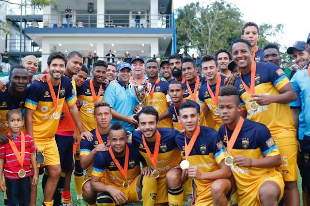 Club Atlético Pantoja, campeón Copa Dominico-Canadiense AFP SIEMBRA 2017