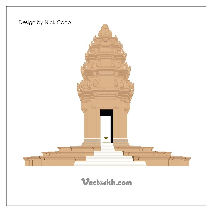 cambodia independence day, cambodia independence monument free vector
