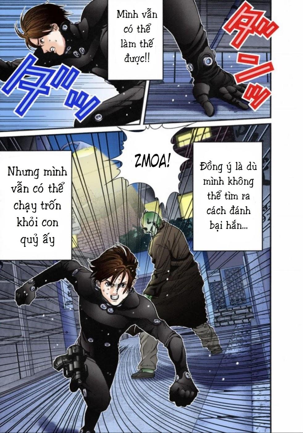 Gantz Chap 14: Không sợ trang 17