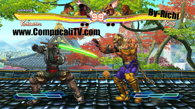 Capturas Propias Street Fighter X Tekken PC Full