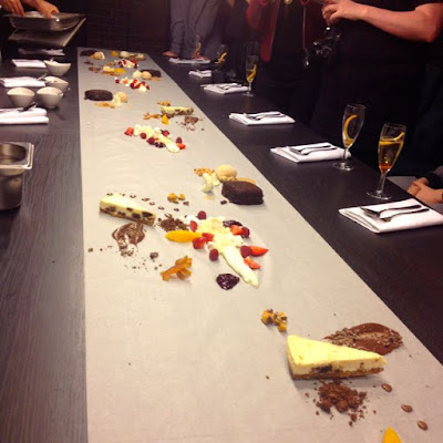 Deconstructed Dessert at Blogger Event