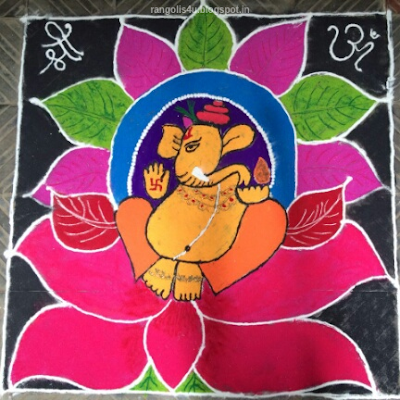 Ganesh Utsav Rangolis