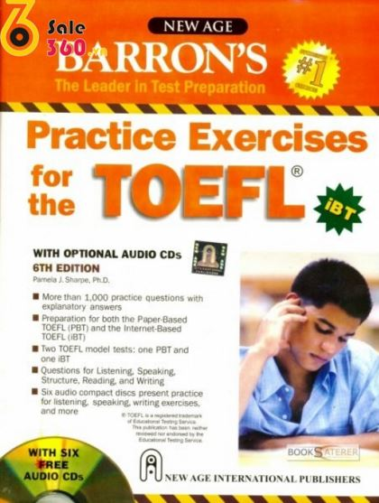 Barrons practice exercises for the toefl ibt 6th full ebook updated to reflect the most current toefl formats this book presents more than 1000 practice questions with explanatory answers designed to prepare fandeluxe Choice Image