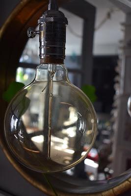 JoFer;Edison Light Bulbs used in pendant lighting fixture