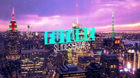 قالب افتر افكت مجاني - مشروع سلايد شو المستقبل - CS5.5 فأعلى
