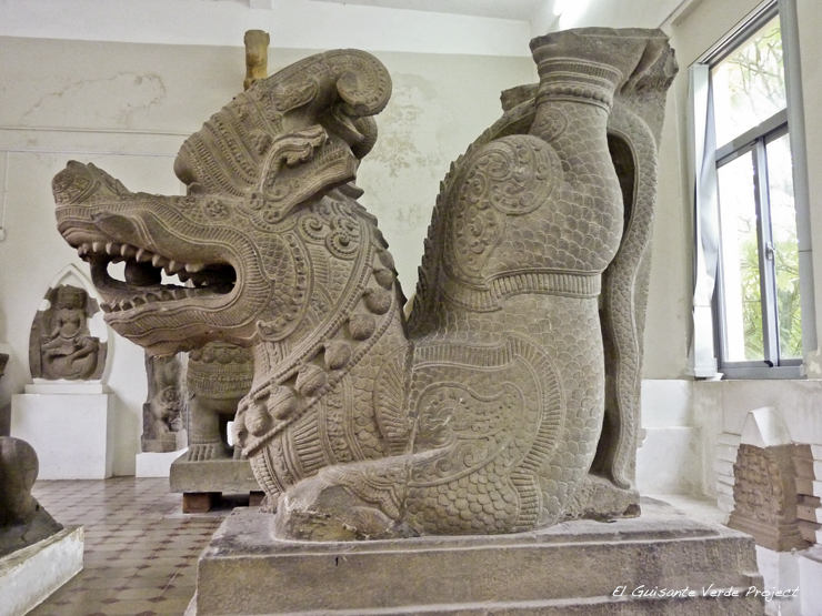 Museo Escultura Cham Da Nang - Vietnam por El Guisante Verde Project
