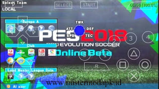 PES Army 2018 PSPISO Mod Apk