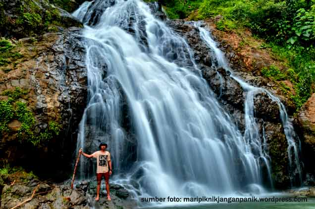 wisata alam kulonprogo jogja air terjun kedung gandu