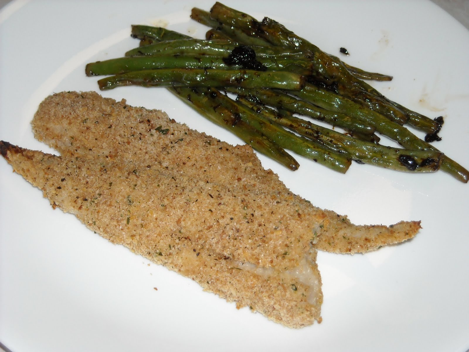 Dirt Poor Filthy Rich OvenFried Whiting Fillets