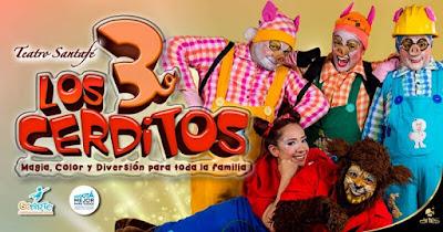 LOS 3 CERDITOS Poster 1