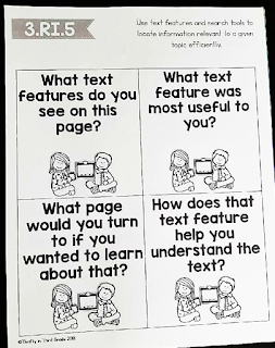 Using reading questions stems to keep students accountable for their independent reading. These questions are aligned to standards to help you target specific skills.