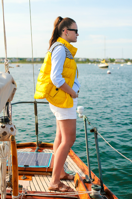 Nautical Yellow On A Boat New York City Fashion And
