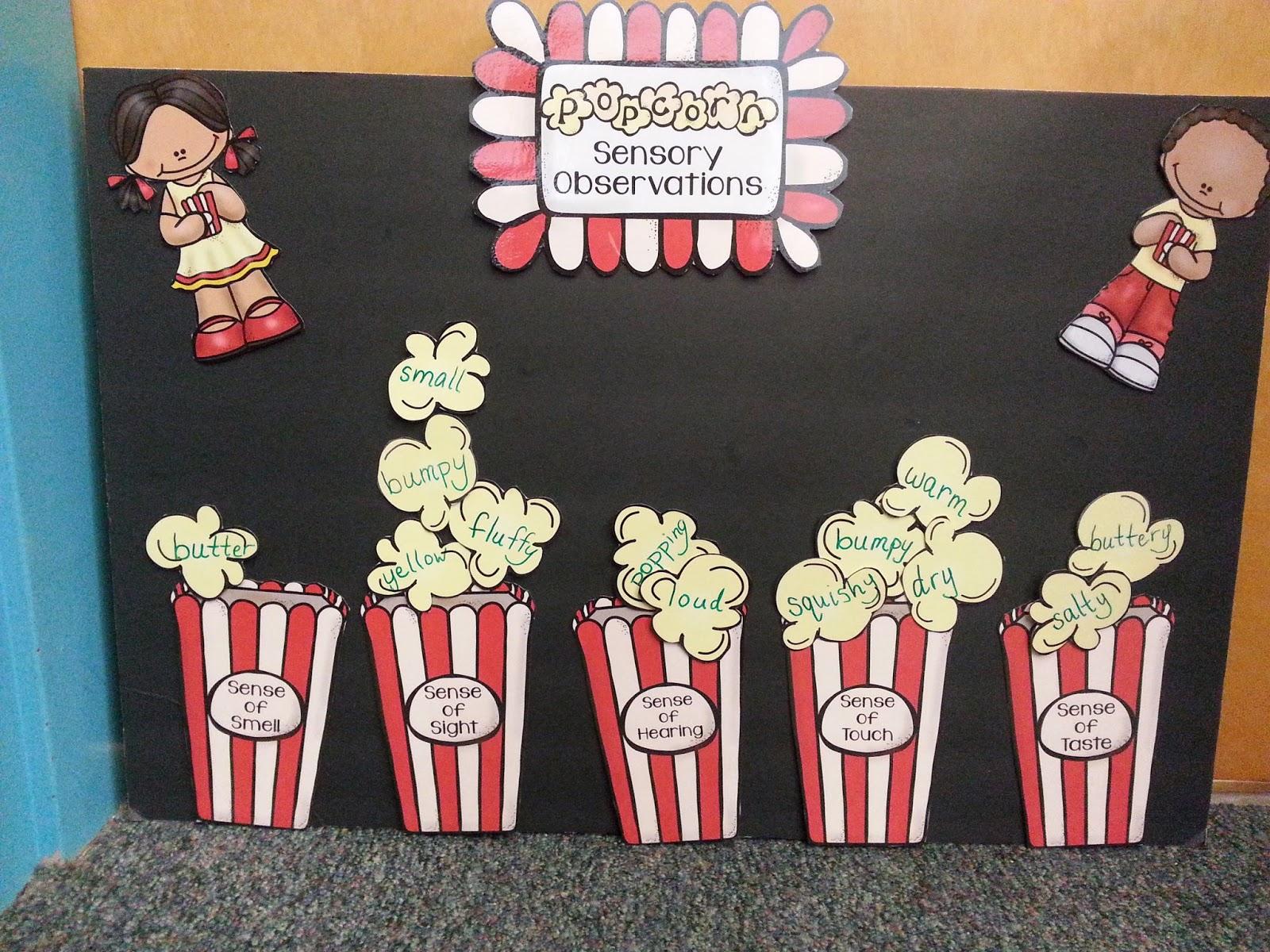 Classroom Freebies Too Popcorn Investigation