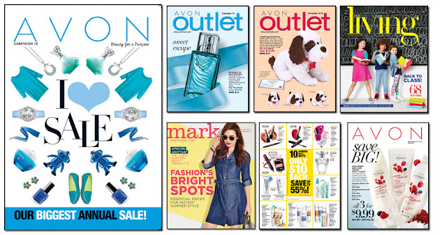 Avon Campaign 16 2016 Avon Outlets, Avon mark. magalog, Avon Living, Avon Flyer. The Online date on this Avon Catalog 7/9/16 - 7/22/16