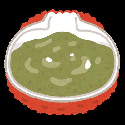 カニ味噌のイラスト