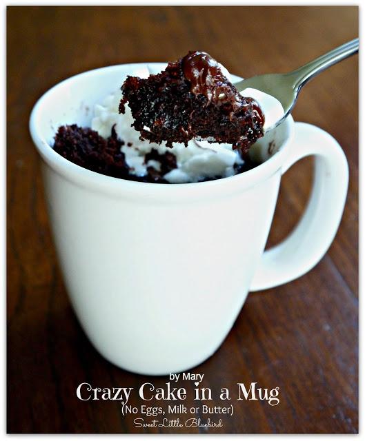Crazy Cake In Mug
