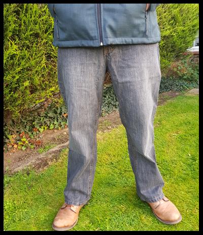 Jacamo's Union Blue Bootcut jeans