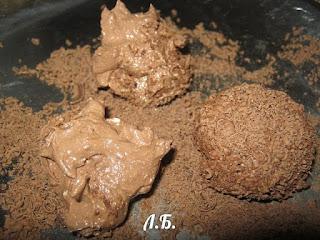 творожные конфеты в шоколаде
