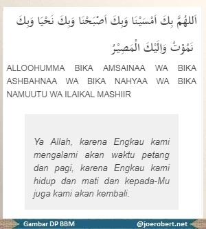 berdoa sewatu sore