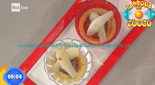 Cremoso di cioccolato con cocco e pera ricetta Scarpa da Prova del Cuoco