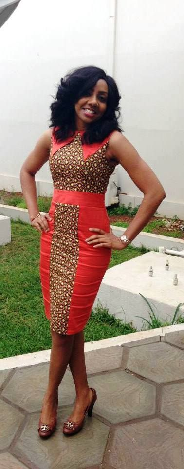 Latest short ankara gown 1 nigeria style blog for Elegant african dresses for weddings