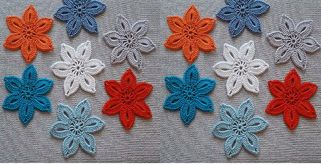 EASY CROCHET LACE FLOWER