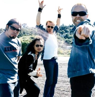 Foto de Metallica al aire libre
