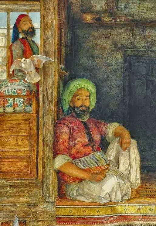 لوحات Orientalist للفنان John Frederick Lewis