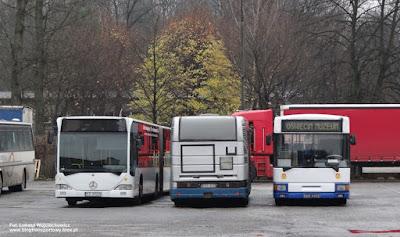 Mercedes-Benz Citaro G, Renault R312, Jelcz 120M, PKSiS Oświęcim SA