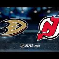 Ducks at Devils